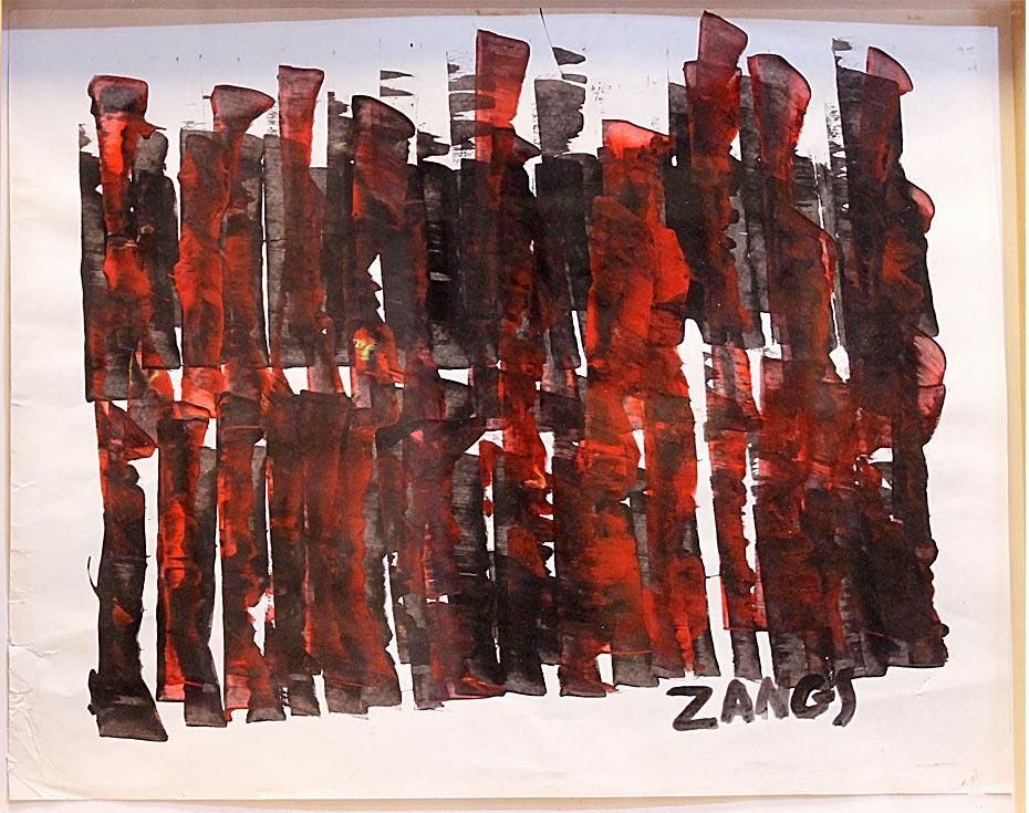 Scheibenwischer Schwarz-Rot