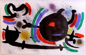 "Tafel X aus ""Joan Miró – Lithograph I"""
