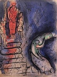 Ahasverus vertreibt Vasthi