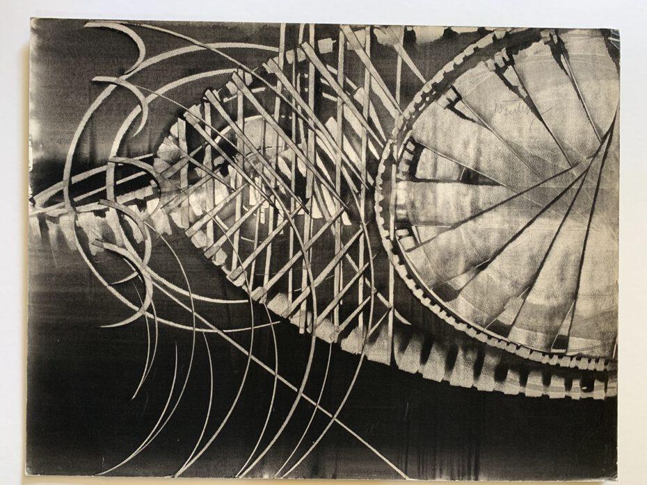 Philipp Weichberger, tachistische Komposition, lot 2