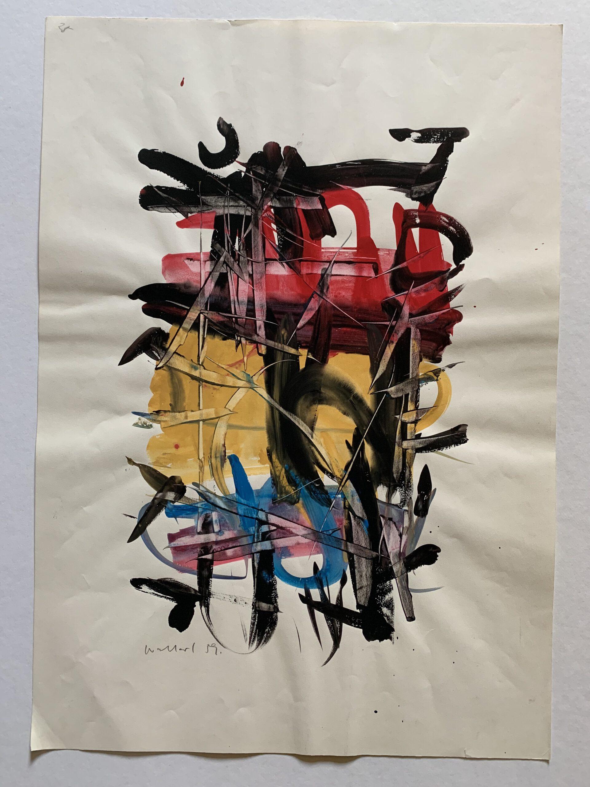 Philipp Weichberger, Farbkomposition, lot 4